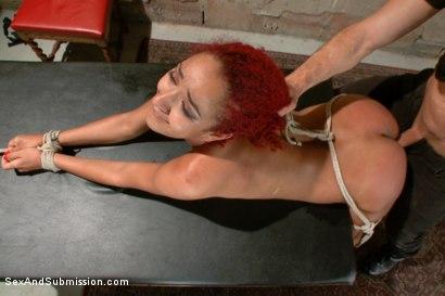 Rough anal bondage