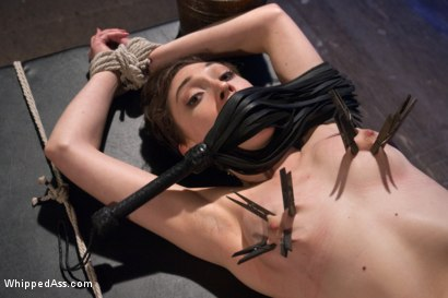 Lily Lebeau suffers beautifully at the hands of a gorgeous evil mistress taking tight bondage and a cruel anal fucking until she can't cum anymore!