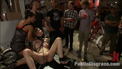 35431 5 Pounded in a biker bar  First ever boy/girl scene!
