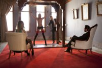 When a rich couple searches for kinky threesome, House Slave Roxy Rox seduces uptight wife Nadia Styles into a hot anal threesome