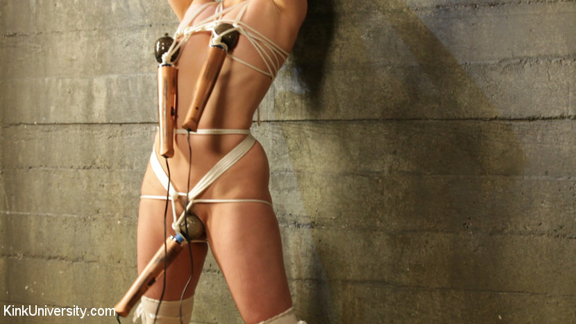 using bondage devices to reach orgasm