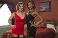 Penthouse Pet Skin Diamond and Big Tit Krissy Lynn star in Vegas Road Trip. Hard rope bondage, gags, prostitutes, hard core face fucking, facial abuse