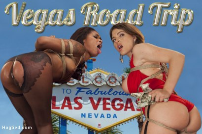 Penthouse Pet Skin Diamond and Big Tit Krissy Lynn star in Vegas Road Trip. Hard rope bondage, gags, prostitutes, hard core face fucking, facial abuse