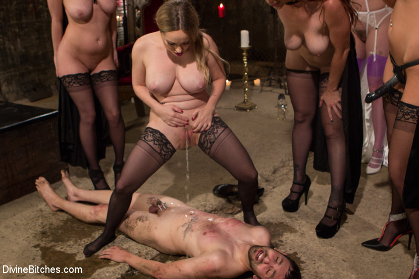 hogtied video cfnm party