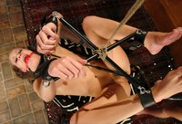 Being in bondage and made to cum is her favorite.