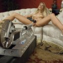 The machines take another multi-orgasm victory as they pump cum and moans of 19yro, Carmen Caliente