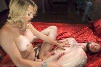 Mistress-Tyra-Scott-Humiliates-and-Fucks-a-VERY-Tight-Ass-Man-slave