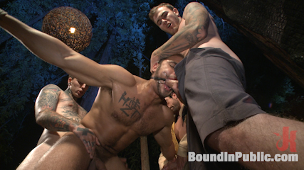 Officer avery s nightmare. Officer Brock Avery gets taken against his own will as lustful mountain men torture and have sex him into submission