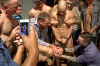 Bar-Slut-Gang-Fucked-and-Covered-in-the-Crowds-Cum