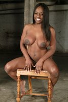 Tall and stunning, model Jada Fire is made to squirt