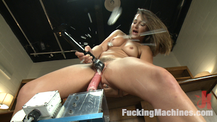 So hot you can barely look at her dani daniels on fuckingmachines. Ridiculously hot, super babe make love by machines until she squirts all over the lens. She fingers her tight booty and cums with head to toe orgasms!