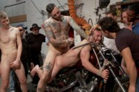 Muscled-mechanic-bound-fucked-from-both-ends-and-doused-with-cum