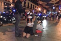Sexy-whore-Damaris-humiliated-in-public