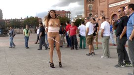 Saucy-Spanish-Slut-Dragged-Around-the-Streets-of-Madrid