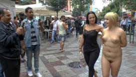 Japanese-Slut-is-humiliated-and-put-on-display-in-Madrid