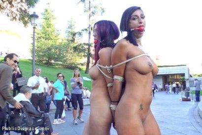 EVERY-Slave-Pussy-Disgraced-in-Public-European-Fuckfest