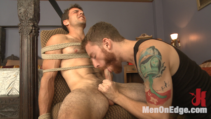 Drop dead handsome  super straight  voluminous dick  first time on video. Drop dead handsome Atticus Cole gets edged, and this straight dude appears for the first time on video.