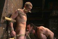 New sub Zane Anders endures bamboo torture!
