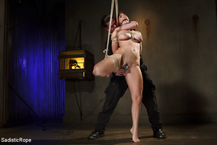 Warning brutal tortured water boarding and extreme bondage. Sophia is one of the truest masochists in the industry. She has an amazing all natural body and loves bondage. What more could I ask for We start with her in a standing position with one leg pulled up and start the punishedment. The next scene starts and it's evident what's about to happen. Water boarding is not something that should be taken lightly, and Sophia is sweet make love frightened. the scene begins, and before I have started to pour water on her face, she is already shaking from fear. In the final scene we have Sophia bent over giving me a perfect target some brutal corporal punishedment. I use everything in my arsenal to punished her perfect ass. She is flogged, spanked, paddled, and even subjected to the dragon tail.