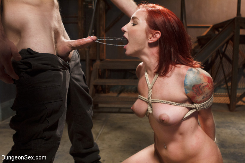 Fuck the pain slut. Sophia takes pain and turns it in to pleasure. She can endure a serious bottom beating and keep a smile on her face the whole time. Today is no exception, because she gets a full dose of punishment, manhandling and bondage all while getting brutally fucked.