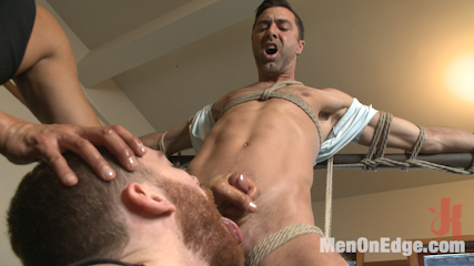 Dicksucked Hunk Edged And Dominated Over