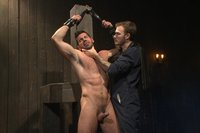 Mr Wilde captures a muscle stud and fucks him up!