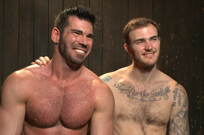 Bound Gods - Billy Santoro - Christian Wilde - Muscle captive submits to the hands of Mr Wilde #11