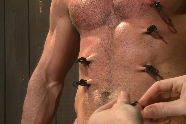 Bound Gods - Billy Santoro - Christian Wilde - Muscle captive submits to the hands of Mr Wilde #3
