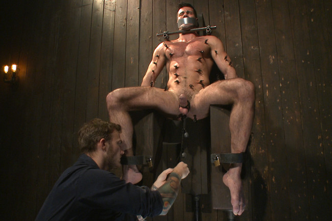 Bound Gods - Billy Santoro - Christian Wilde - Muscle captive submits to the hands of Mr Wilde #4