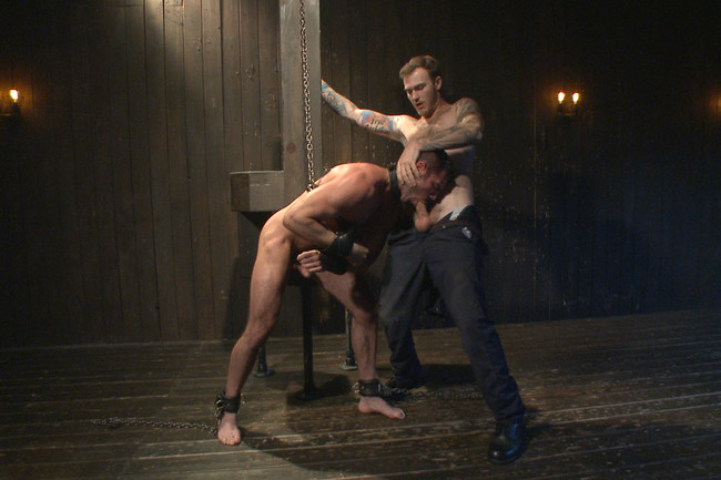 Bound Gods - Billy Santoro - Christian Wilde - Muscle captive submits to the hands of Mr Wilde #7