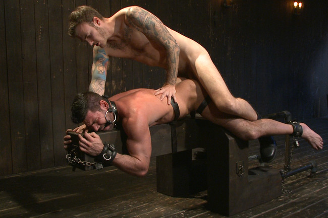 Bound Gods - Billy Santoro - Christian Wilde - Muscle captive submits to the hands of Mr Wilde #8
