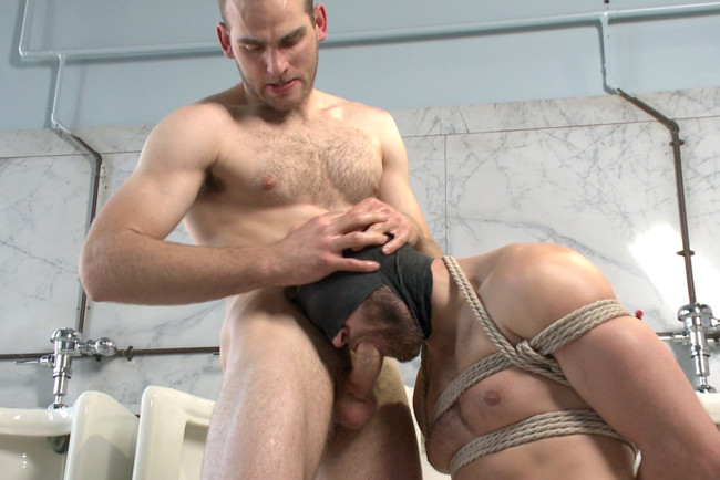 Naked Kombat - Abel Archer - John Smith - Top Cock: Loser's head shoved in the urinal & ass fucked to submission #12