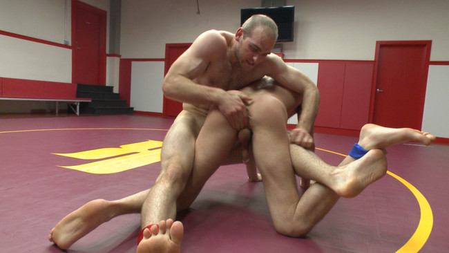Naked Kombat - Abel Archer - John Smith - Top Cock: Loser's head shoved in the urinal & ass fucked to submission #13