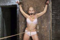 The best rope bondage site on the web delivers the finest babes tied up and molested