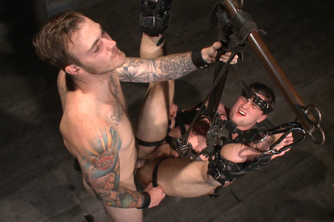 Bound Gods - Scott Harbor - Christian Wilde - Mr Wilde breaks in the new boy of the house #11