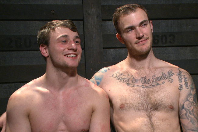 Bound Gods - Scott Harbor - Christian Wilde - Mr Wilde breaks in the new boy of the house #15