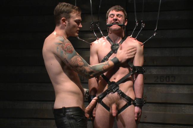Bound Gods - Scott Harbor - Christian Wilde - Mr Wilde breaks in the new boy of the house #6