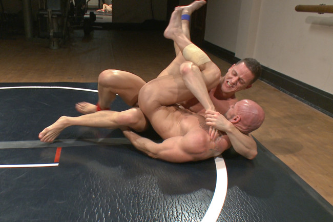 Naked Kombat - Ivan Gregory - Mitch Vaughn - Top Cock: Loser takes a hard machine fucking up his ass! #4