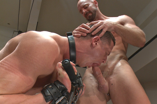 Naked Kombat - Ivan Gregory - Mitch Vaughn - Top Cock: Loser takes a hard machine fucking up his ass! #8