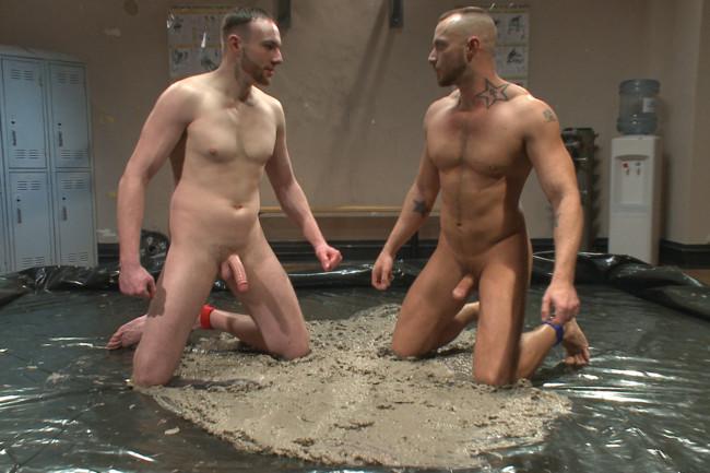 Naked Kombat - Jessie Colter - Jimmy Bullet - Top Cock: MUD WRESTLING! #2