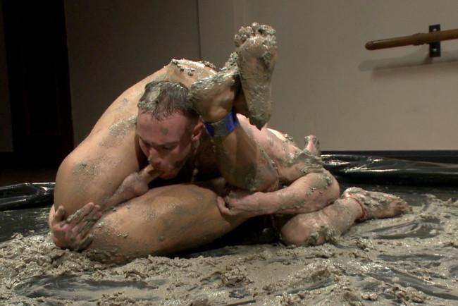 Naked Kombat - Jessie Colter - Jimmy Bullet - Top Cock: MUD WRESTLING! #12