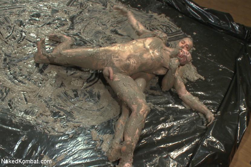 wrestling naked mud Gay