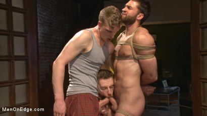 Bound-Abel-Archer-Cums-w-o-Even-touching-his-cock