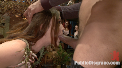 Young slut comes into full bloom in city of public nudity. Jodi Taylor is rope bound, have sexual intercourse by a huge cock, and dominated by cute female patrons.