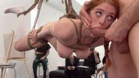 Slutty-redhead-shocks-art-students-by-taking-giant-cock-in-all-holes