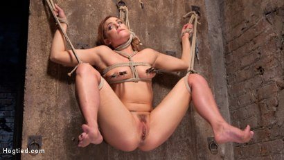 Dahlia is made to endure the most brutal bondage, grueling torment, and then cums because she is a slut that is willing to give us everything she has!