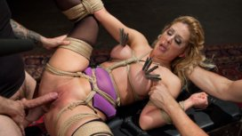 Slave-Training-a-Big-Tit-Blonde-Bombshell-In-Bondage-Day-One