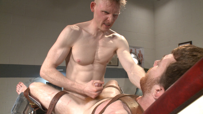 Bound Gods - Rob Yaeger - Seamus O'Reilly - Helplessly bound Seamus O'Reilly fisted on the hospital night shift #13
