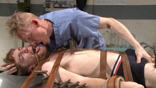 Bound Gods - Rob Yaeger - Seamus O'Reilly - Helplessly bound Seamus O'Reilly fisted on the hospital night shift #15