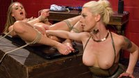 AJ-Applegate-Flogged-Fisted-and-Anally-Strap-on-Fucked-by-Lorelei-Lee